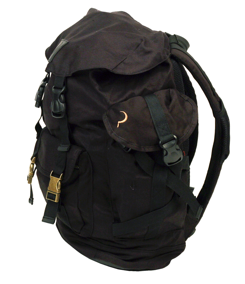 GC Canvas Backpack side