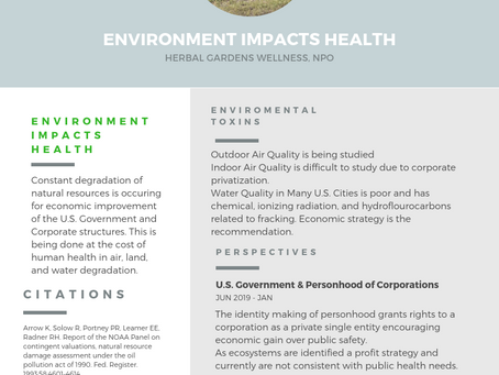 Research: Environment Impacts Health!
