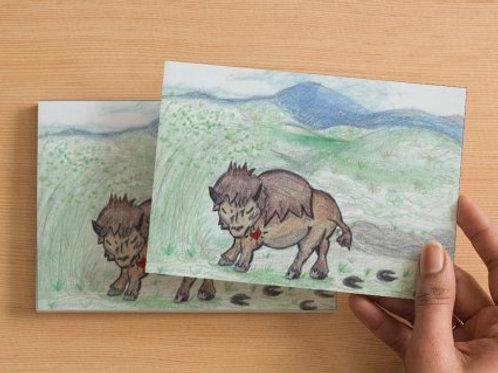 Buffalove Postcard