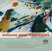 CD Cover Russian Oboe Concertos