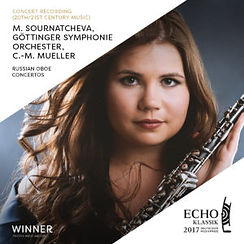 Maria Sournatcheva Oboe ECHO Klassik 2017