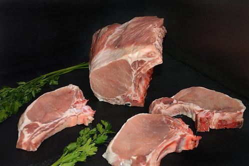 Cotes filet de porc