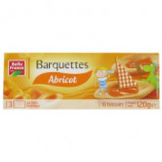 BARQUETTES ABRICOT BELLE FRANCE