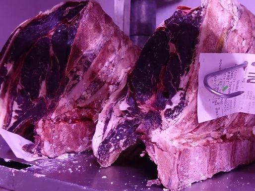 Côte de bœuf maturée de 45 a 90 jours
