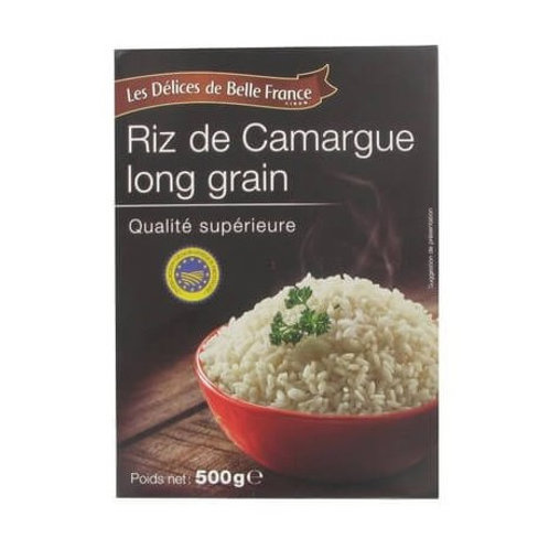 Riz de Camargue long grain Les Délices de Belle France