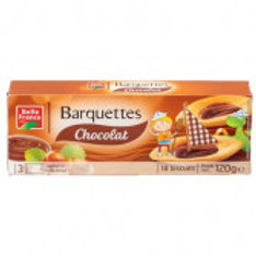 BARQUETTES CHOCOLAT BELLE FRANCE
