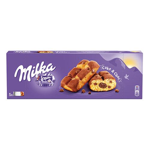BISCUITS CAKE & CHOCO 175G MILKA