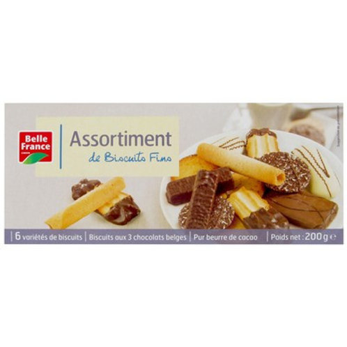 ASSORTIMENT BISCUITS FINS 200G B.FRANCE