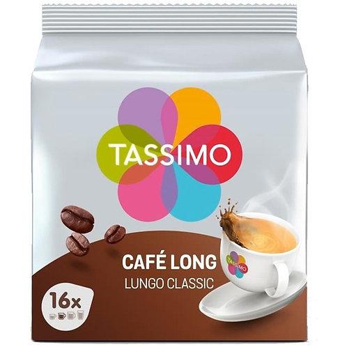 Dosette Tassimo café long classique - 16 Discs