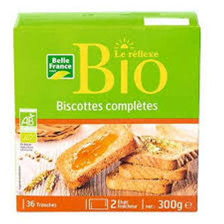 BISCOTTES COMPLETES BIO B.FRANCE