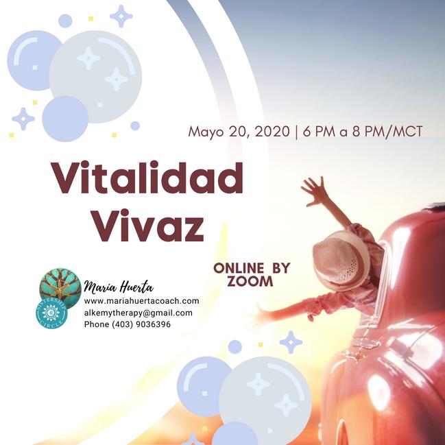Vitalidad vivaz (Sesion vespertina)
