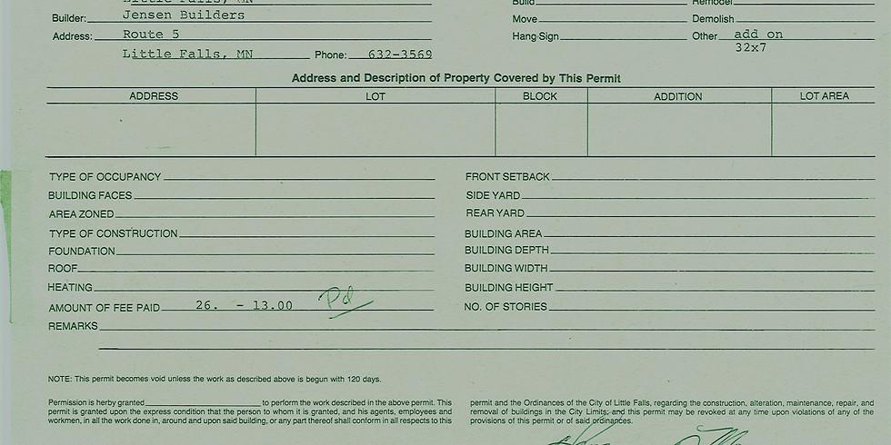 Building Permits Primer