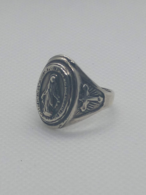 Miraculous Medal Ring lg