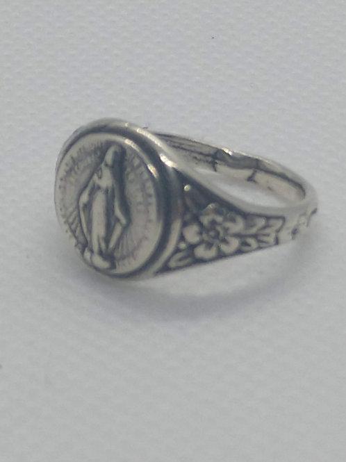 Miraculous Medal Ring sm