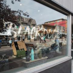 Black Dog Storefront in the Platzl