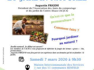 Conférence de l'ACJCA à Benfeld