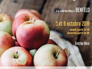 L'ACJCA sera présente à Benfeld pour l'expo fruitière