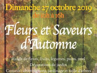 """Retrouvez l'ACJCA à Scherwiller,le 27 octobre pour """"Fleurs et Saveurs d'Automne"""""""