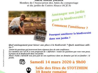 Conférence ACJCA à Stotzheim