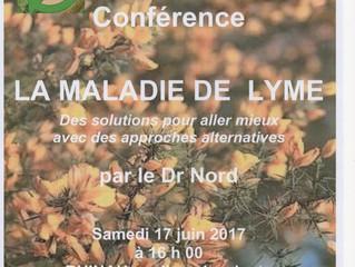 """Conférence """"La maladie de Lyme"""" par le Dr. Nord"""