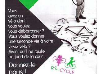 Donnez une seconde vie à votre vélo