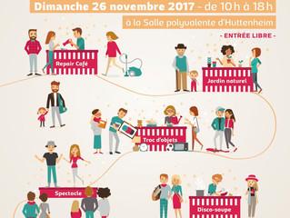 Le village de l'éco-partage - 26 novembre 2017