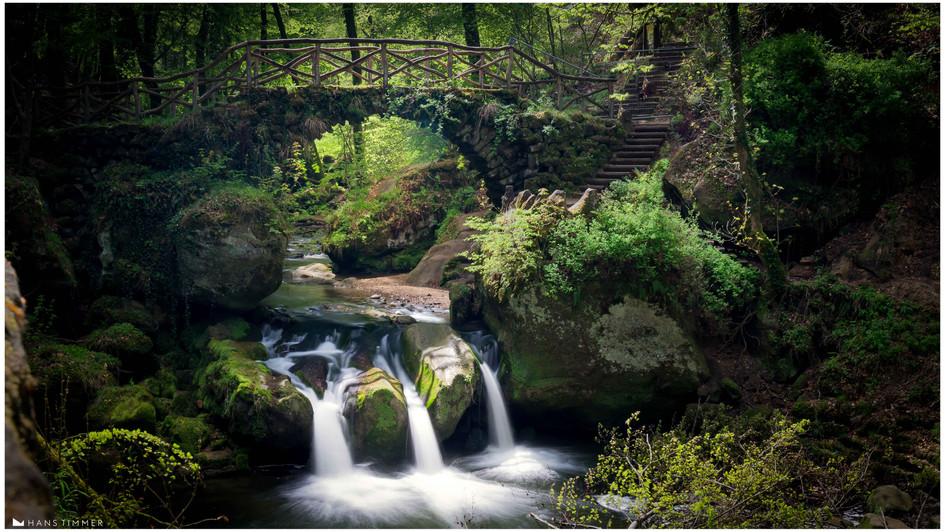 Schiessentümpel waterfall, Muhlertahl, Luxemburg