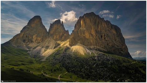 Langkofel Group, Dolomites, Italy