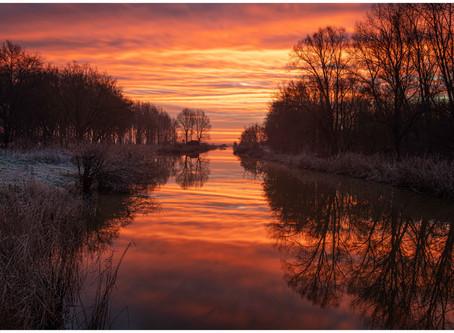 Most colourful sunrise