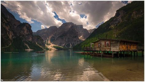 Pragser Wildsee / Lago Di Braies , Dolomites, Italy
