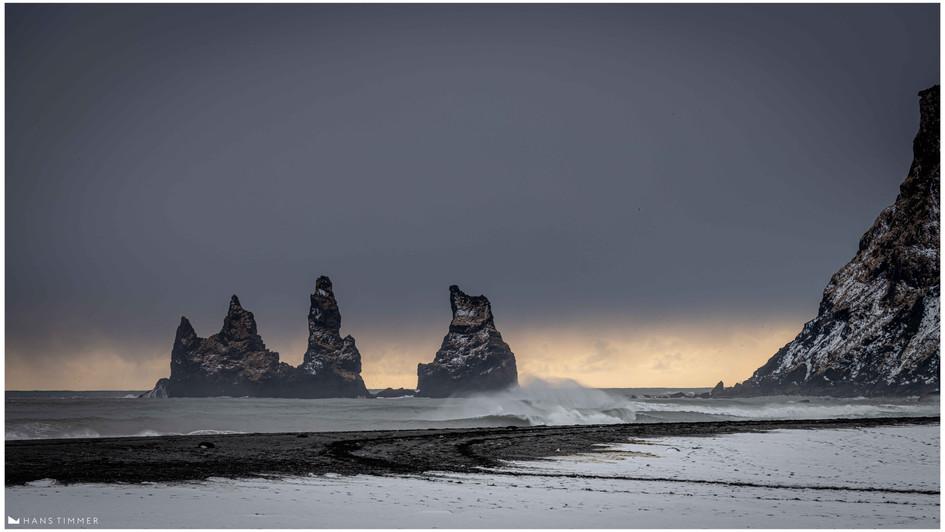 Sea Stacks Vik, Myrdal, Iceland
