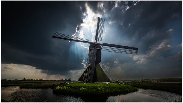 The Uitwijkse Windmill