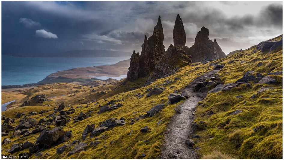Old Man of Stor, Isle of Sky, Scotland