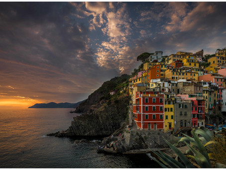 Cinque Terre, Riomaggiore,Italy