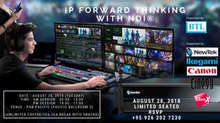 IP Forward Thinking with NDI®