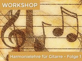 Harmonielehre für Gitarre 1