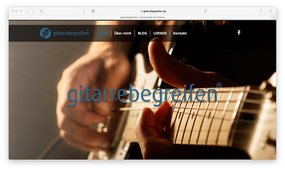 gitarrebegreifen, Oliver Szekely, online Gitarre lernen