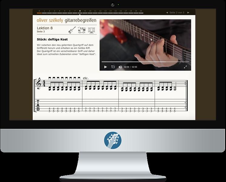 Gitarre online lernen mit gitarrebegreifen