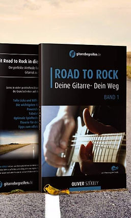 Road to Rock - Lehrbuch für E-Gitarre - Oliver Szekely
