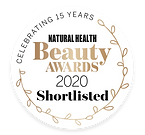 2020 Natural Health Beauty Awards Shortlist Logo