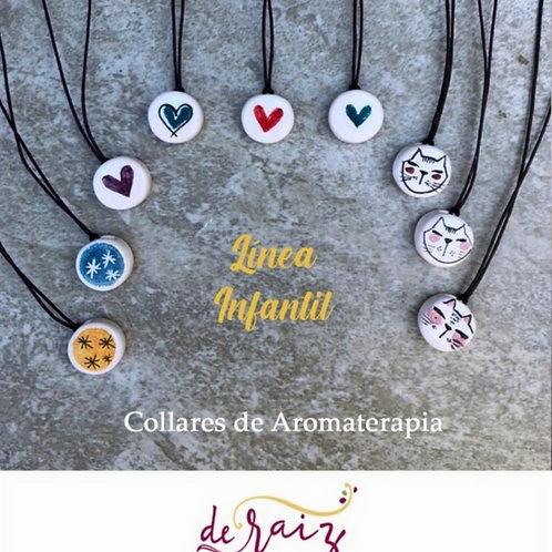Collar de Aromaterapia  -Linea Infantil ( Ceramica )