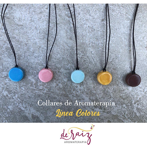 Collar de Aromaterapia  -Linea Colores ( Ceramica )