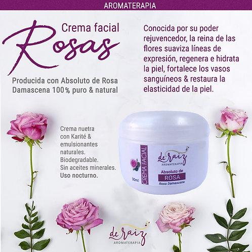 Crema Absoluto de Rosa ( Rosa Damascena)