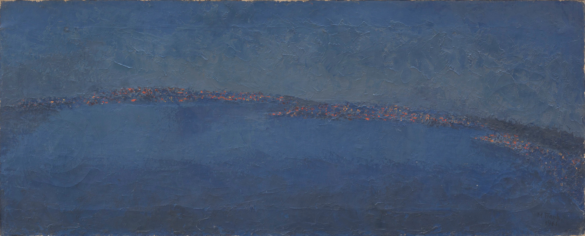 Seattle by Night (Blue Night)