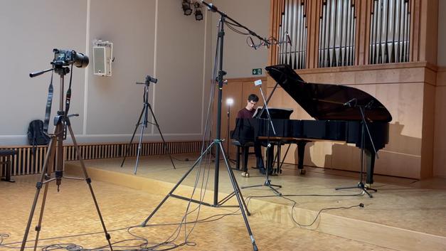 Recording Rani Orenstein, piano