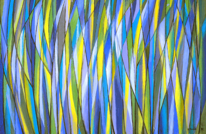Untitled - abstract grasses