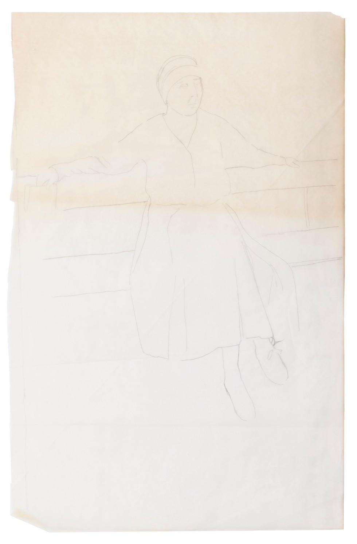 Sketch for Rózsa Vilma (2)