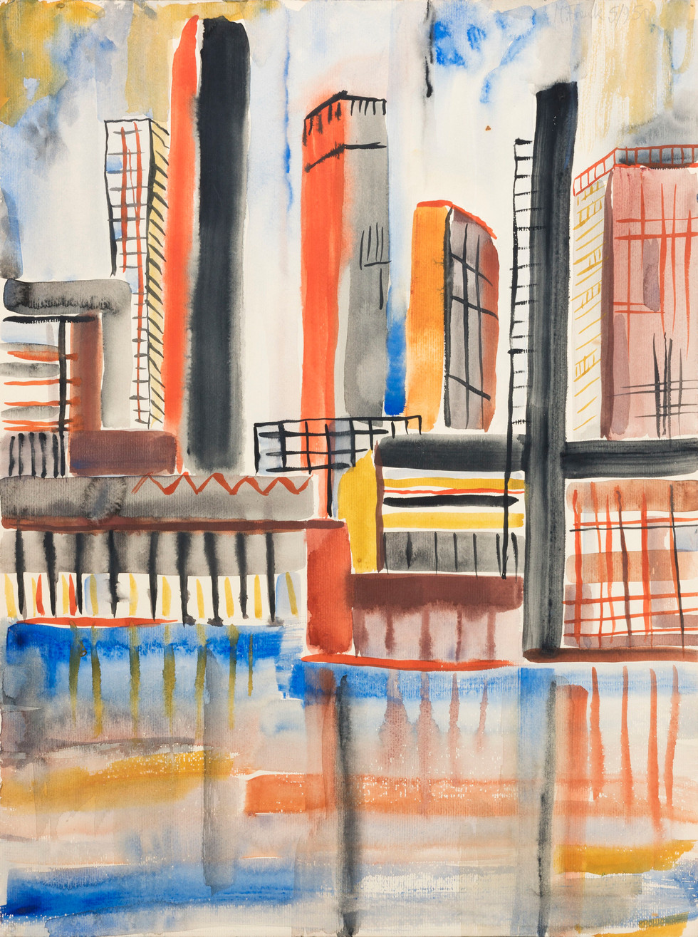 Untitled - cityscape with skyscrapers