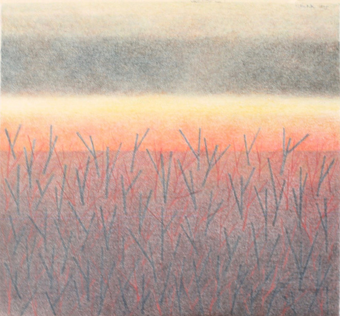 Autumnal Equinox (color pencil)