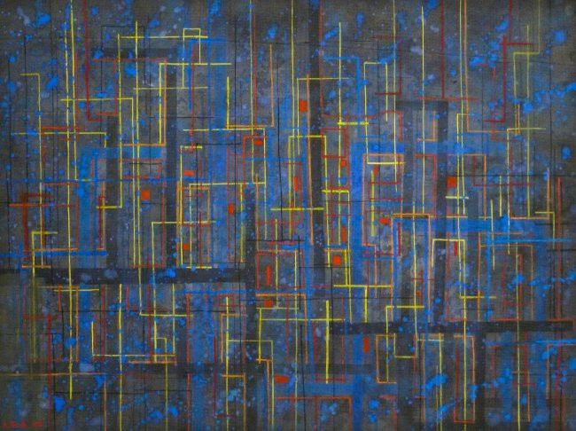 Untitled - abstract 1981